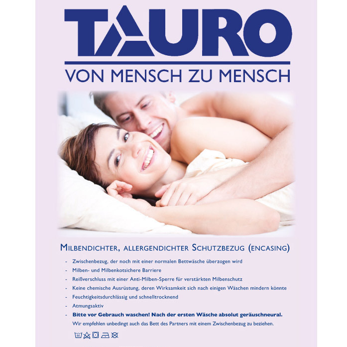 Matratzenbezug (rundum) 180x200 Encasing Milbendkoticht Höhe 20cm Jetzt neu: TÜV zertifiziert!
