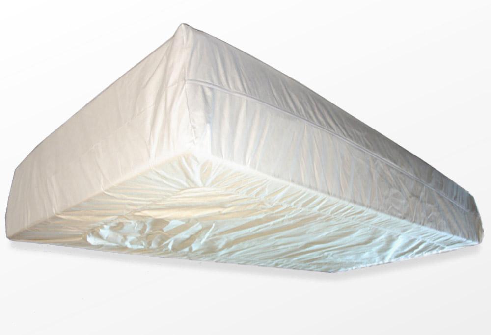 TAURO 28954 Flex 120 x 200 cm MatratzenBezug gegen Milben | AntiAllergie | höhenverstellbar von 21-27cm | Matratzenbezug bei Hausstauballergie Jetzt neu: TÜV zertifiziert!